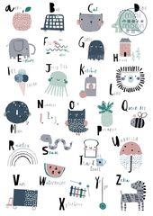 Super süßes #Alphabet #Poster   Kinderillustrati…