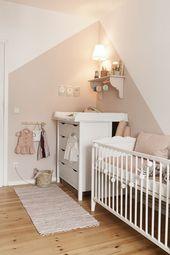 Ein Traum in Pink – Wunderschöner Kindergarten für ein Mädchen in der zarten …   – Living   Kinderzimmer Ideen