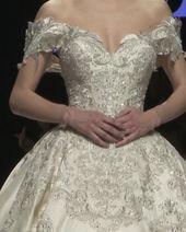 Sadek Majed bröllopsklänning