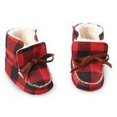 Mud Pie Buffalo Check Bottillons | Magasinez des vêtements d'hiver mignons pour bébés à Sugar …   – WatsonBaby