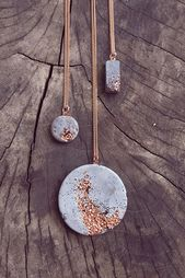 Crystals: copper & glitter chain & connector: 925 sterling silver (nickel free) … – barbara – I follow