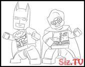 Ausmalbilder von Lego Batman und Robin. Wer kennt Batman nicht? Vielleicht alle DC-Fans …, #Batman …   – Lego