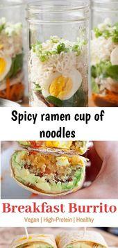 Spicy ramen cup of noodles