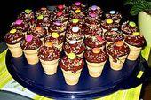 Doris wars: Kleine Kuchen im Waffelbecher