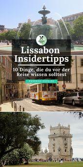 Städtereise Lissabon: Tipps und Tricks für eure Reise