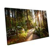 Alpen Home Canvas Print Forest Landscape | Wayfair.de