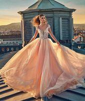 Süßes Abendkleid, charmantes Abendkleid mit V-Ausschnitt, langes Tüll-Partykleid, rückenfreies Abendkleid mit Flügelärmeln