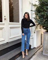 6 façons différentes de style Jeans Mom