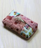 Sew a tissue pocket from scraps of fabric   – Nix verkomme lasse – textile Reste verwerten
