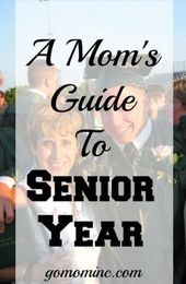 If you are the Mom of a high school senior, I've created a guide to senior year …