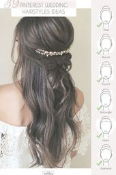 39 Pinterest Wedding Hairstyles For Your Unforgettable Wedding ❤️ If you are interested in elegant and gorgeous wedding hairstyle for your perfect...