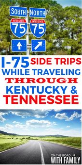 I-75 Aspect Journeys by Kentucky and Tennessee for household journey