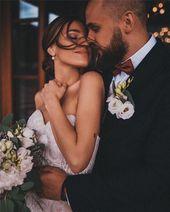 er einzige, den ich will, der einzige, den ich jemals will, bist du; Braut-Stil; Hochzeit