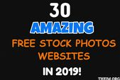 30 Of The Amazing Free Stock Photos Websites Which Provide Breathtaking Photos For Either Commercial Or Personal Use For Bloggers.