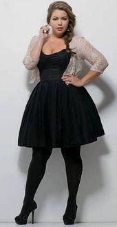 Plus Size Kleider zum Valentinstag