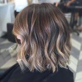 35 Balayage Haarfarbe Ideen für Brünette im Jahr 2019, The French Haarfärbungstechnik …   – Balayage