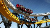 Six Flags' West Coast Customs roller coaster is open
