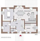 Erdgeschoss Einfamilienhaus