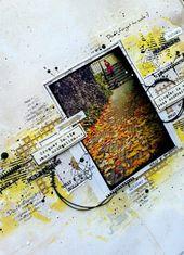 Graffiti 'Girl's page kraft yellow, black – # graffiti39girl #yellow #kra …   – 3D Graffiti