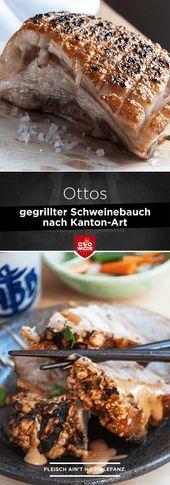Knuspriger Schweinebauch nach Kanton-Art (siu yuk) – Otto Wilde Grillers