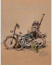 "Frank Brinkmann auf Instagram: ""# Motorcycle # Stranded"" – Motorrad Tattoo … …."