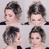 23 Schnelle und einfache Zöpfe für kurzes Haar