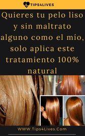 Quieres tu pelo liso y sin maltrato alguno como el mío, solo aplica este tratamiento 100% pure