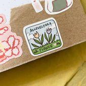 Baby Ilustration Plant Babies 2 Sticker Sheet