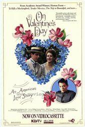 ON VALENTINE'S DAY Movie POSTER 27×40 Hallie Foote Matthew Broderick Michael #Ad…