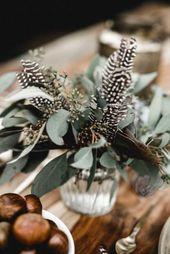 Trendy Feather Wedding Decor Ideas – crazyforus