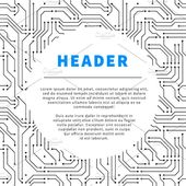 Technology background with text by BestPics on Creative Market