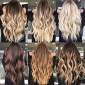 20 Balayage Brown bis Blonde Lange Frisuren – Frisuren