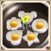 Hot New Creative Stainless Steel Form for Frying Eggs Tools Omelette Mould Devic…   – Products