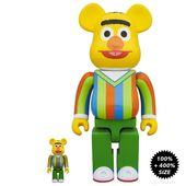 "Sesame Street Elmo 400/% Bearbrick 11/"" Designer Art Figure by Medicom Toy"