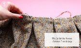 Tuto: Faire une jupe jacquard patineuse, par Gwladys   – Couture tutoriel