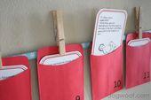 Schrift Adventskalender   – Classroom
