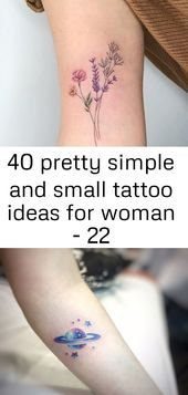 40 pretty simple and small tattoo ideas for woman – 22