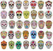 Amazon.com: Sugar Skull Stickers Pack [50pcs], Sanmatic Sticker Graffiti Skatebo…   – Grade 3