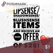 2 for $28 Choose Objects: LipSense/ShadowSense/BlushSense consists of Gloss as effectively …