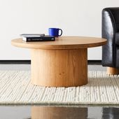 Justice Oak Coffee Table + Reviews
