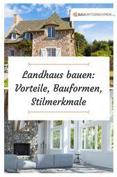 Ein Landhaus bauen: So planen Sie den Hausbau im L…