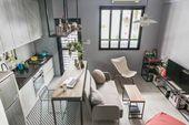 Wenn es einen richtigen Weg gibt, um ein kleines Studio-Apartment zu tun, ist es das