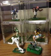 Electric football Players Pre-painted Base /& Skin Tones White Shoes 11 Players