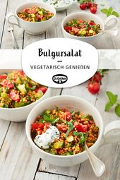 Bulgursalat   – Salate: Kombinationswunder und Frischekick in einem