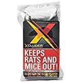 Xcluder Rodent Control Steel Wool Fill Fabric Diy Kit Large Rodents Rodent Repellent Rodent Control
