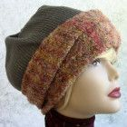 Womens Winter Slouch Hat Pattern Upcycle Sweater Hat Pattern eMail – Crochet hats