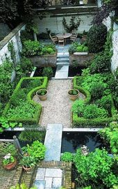 55 Beautiful Backyard Landscaping Along Fence Decoration Ideas #BackyardLandscap…