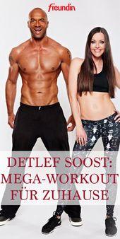Detlef Soost zeigt Ihnen das beste Workout für zu Hause
