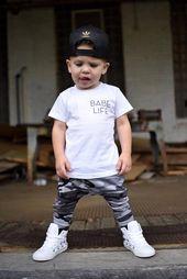 Kleinkind Jungen Baby Boy Camouflage, Camo Print Haremshosen, Kleinkind Mädchen Baby Girl, Etsy Kindermode, trendige Kleinkind, Drop Crotch, Baggies   – Mode für Kinder
