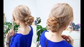 2-MINUTE QUICK AND EASY HAIRSTYLE ELEGANT BUN FOR MEDIUM, LONG OR SHORT